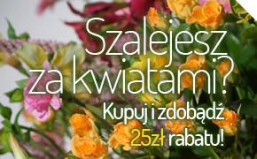 Szalejesz za kwiatami